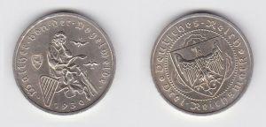 Silber Muenze 3 Mark Walter von der Vogelweide 1930 A (131017)