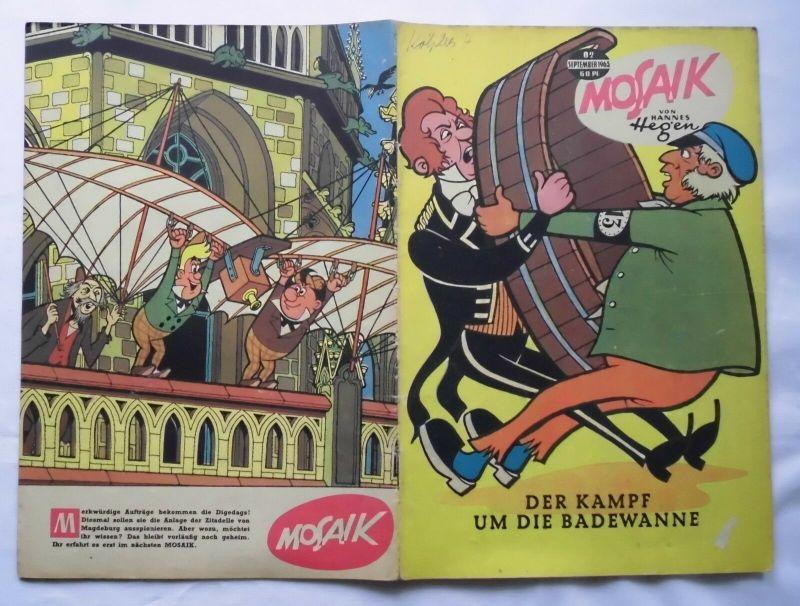 Mosaik von Hannes Hegen Digedag Nummer 82 von 1963 (124088)