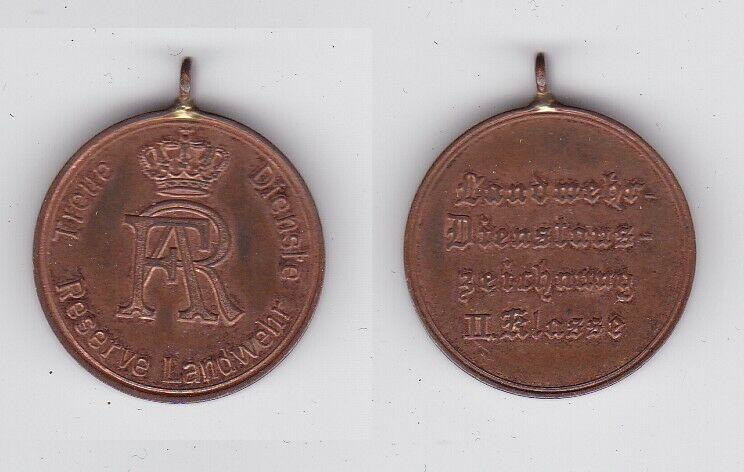 Orden Sachsen Reserve Landwehr Dienstauszeichnung 2. Klasse 1913 (132777)