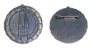 Abzeichen 13. Tag des preußischen Landeskriegerverbandes Köln 1927 (133067)