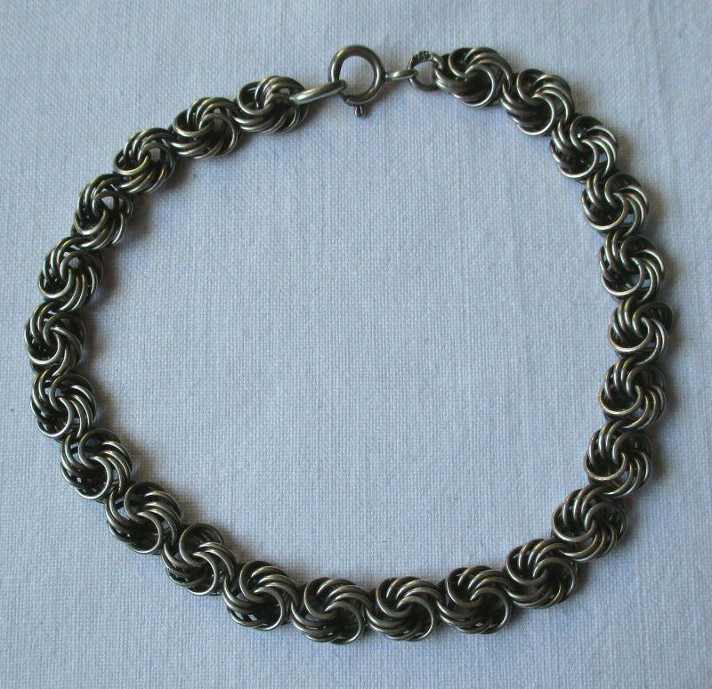Hochwertiges Glieder Armband aus 835er Silber (101467)