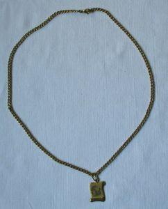 Elegante Damenkette Kette aus 333er Gold mit Sternzeichen Anhänger (103315)