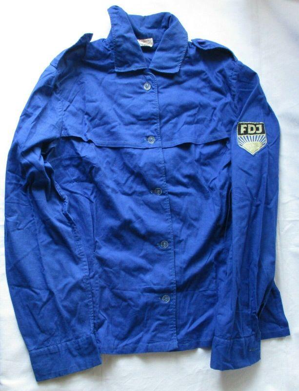 DDR FDJ Freie Deutsche Jugend Bluse Hemd Größe m 82 J KULT (108248)