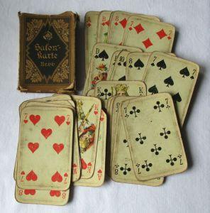 Altenburger Salonkarte Nr. 66 Salon - Pikett um 1920 in OVP (115530)