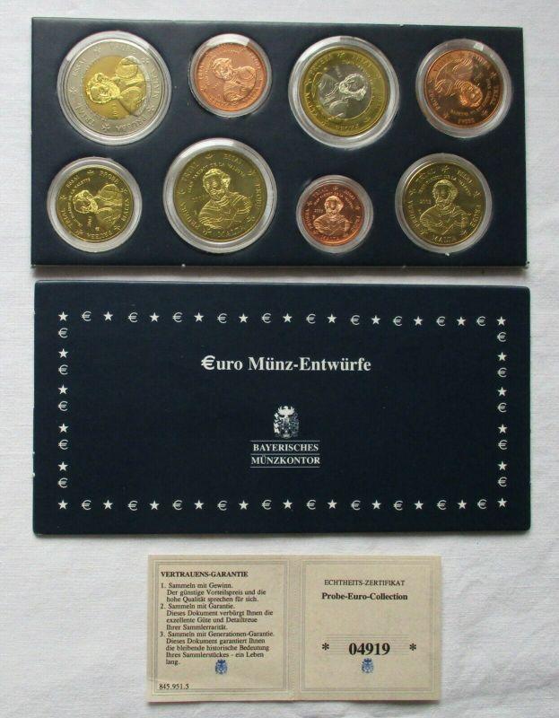 Kursmünzsatz KMS Euro Proben Malta 2003 im Blister (116969)