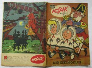 Mosaik von Hannes Hegen Digedag Nummer 86 von 1964 (100722)