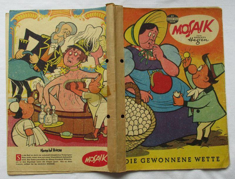 Mosaik von Hannes Hegen Digedag Nummer 81 von 1963 (102029)