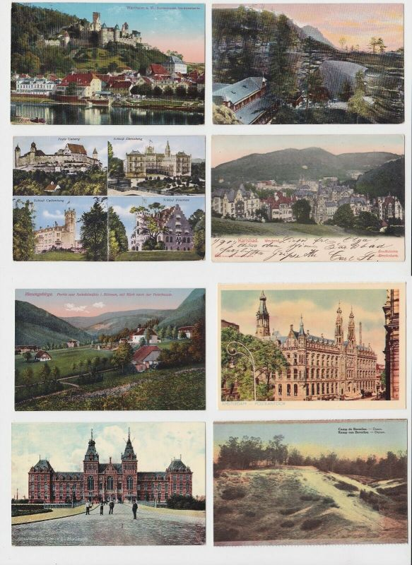 100 interessante alte Ansichtskarten um 1910-1940 (A) (03103)
