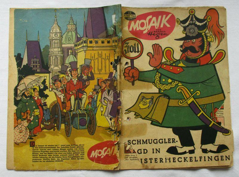 Mosaik von Hannes Hegen Digedag Nummer 77 von 1963 (100042)