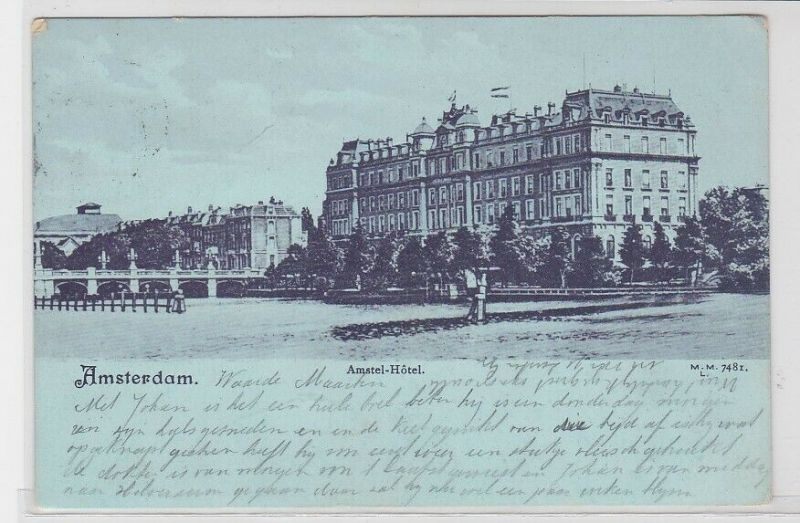 86629 Ak Amsterdam Niederlande Amstel Hotel 1904