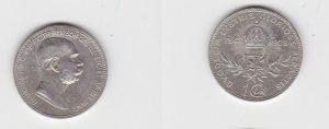1 Krone Silber Münze Österreich 1908 Regierungsjubiläum (123941)