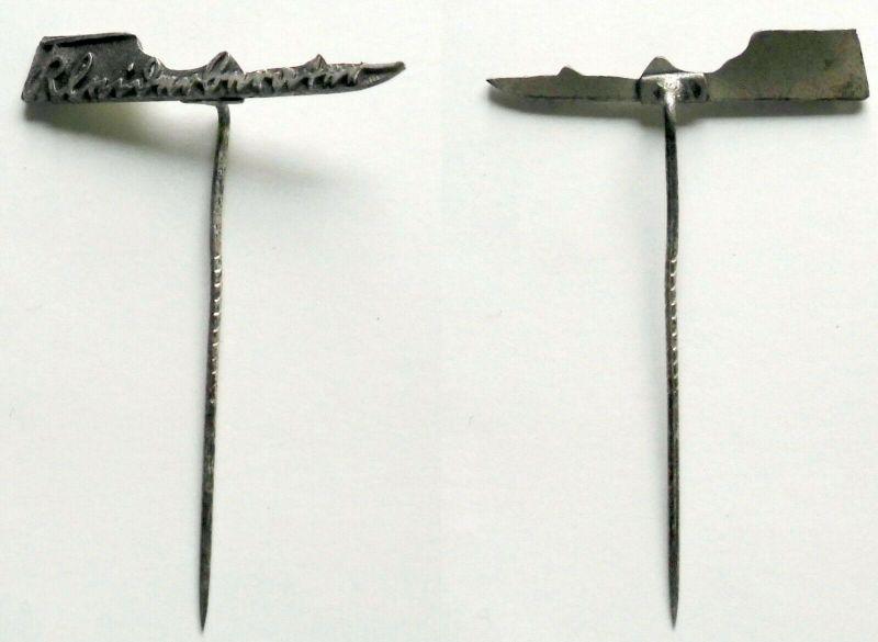 Seltenes Aluminium Abzeichen Kleiderberater um 1930 (132510)