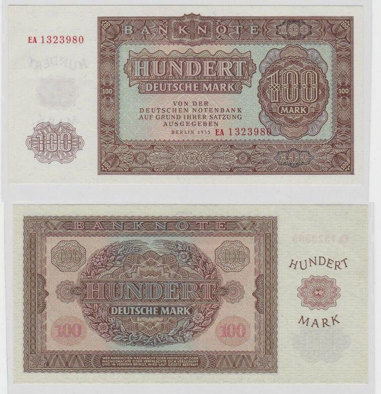 100 Mark Banknote DDR Deutsche Notenbank 1955 kassenfrisch (126077)
