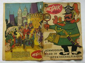 Mosaik von Hannes Hegen Digedag Nummer 76 von 1963 (100042)