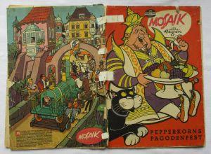 Mosaik von Hannes Hegen Digedag Nummer 76 von 1963 (104648)