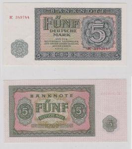 5 Mark Banknote DDR Deutsche Notenbank 1955 kassenfrisch (125069)