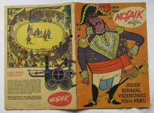 Mosaik von Hannes Hegen Digedag Nummer 74 von 1963 (108913)
