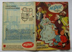 Mosaik von Hannes Hegen Digedag Nummer 65 von 1962 (103708)