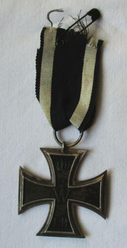 Seltenes Eisernes Kreuz 2.Klasse 1914 mit Band 1.Weltkrieg (117161)