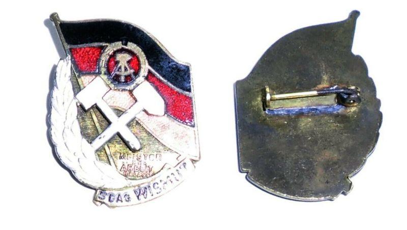 Seltener Orden DDR Meister der Arbeit SDAG Wismut II.Klasse (132570)