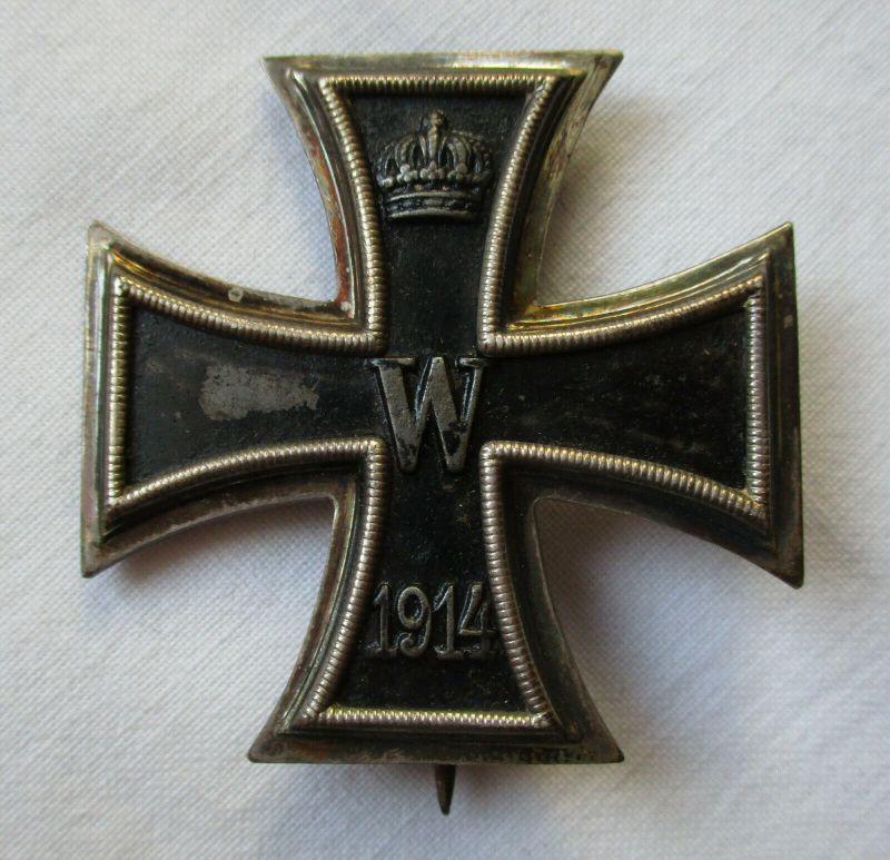 Seltenes Eisernes Kreuz 1.Klasse 1914 Hersteller KO 1.Weltkrieg (118389)
