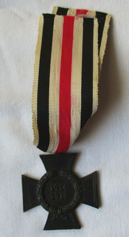 Seltenes Ehrenkreuz 1.Weltkrieg Hinterbliebenenkreuz Punze D & Co (117426)