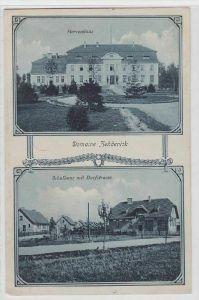 57650 Mehrbild Ak Domaine Zehdenick Schulhaus mit Dorfstrasse 1911