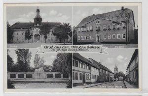 91991 Mehrbild Ak Gruß aus dem 1300jähr.Gebesee 1940