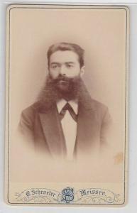 63926 Kabinettfoto Emil Berneaud Meissen um 1900
