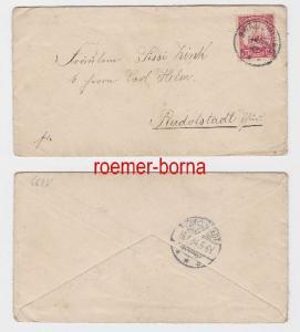 81027 Brief Deutsch Südwest Afrika Stempel Swakopmund 1903