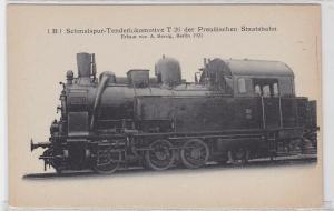 24983 Ak Schmalspur-Tenderlokomotive T 26 der preußischen Staatsbahn 1921