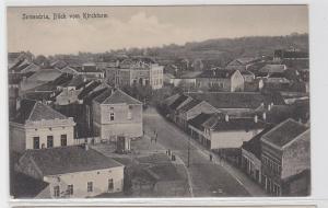93586 Feldpost AK Semendria (Serbien) - Blick vom Kirchturm 1917 1. Weltkrieg