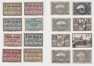 8 Banknoten Notgeld Sparverein zu Ostheim v.d.Rhön 1918 (132931)