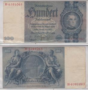 100 Mark Reichsbanknote Deutsches Reich 24.6.1935 Ro 176 a (129954)