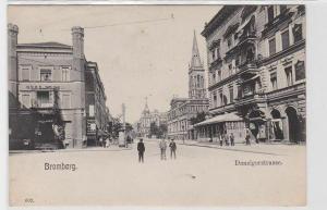 92681 Ak Bromberg Bydgoszcz Danzigerstrasse um 1900