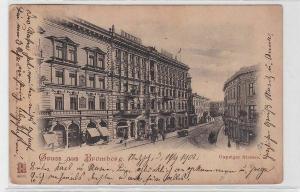 92802 Ak Gruß aus Bromberg Bydgoszcz Danzigerstrasse 1902