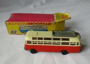 DDR Modellauto Espewe 1:87 H0 Bus Reisebus Ikarus 31 OVP (123455)