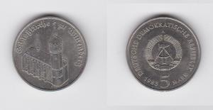 DDR Gedenk Münze 5 Mark Schloßkirche zu Wittenberg 1983 Stempelglanz (129092)