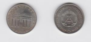 DDR Gedenk Münzen 5 Mark Brandenburger Tor 1979 (129156)