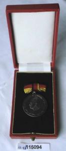 DDR Medaille Meister des Sports 900er Silber im Etui (115094)