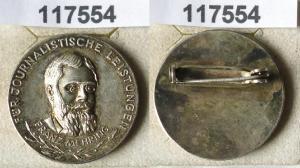 DDR Abzeichen Franz Mehring für journalistische Leistungen (117554)