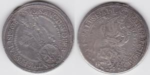1 Taler Silbermünze Österreich Salzburg 1638 Paris von Lodron 1619-1653 (119681)