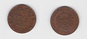 1 Pesa Kupfer Münze Deutsch Ostafrika 1892 (122080)