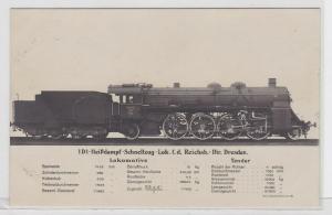 92075 AK Heißdampf-Schnellzug-Lokomotive Reichsbahndirektion Dresden