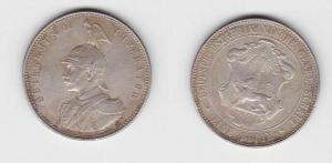 1 Rupie Silber Münze Deutsch-Ostafrikanische Gesellschaft 1894 (118943)