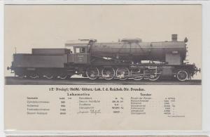 90669 AK Heißdampf-Güterzug-Lokomotive Reichsbahndirektion Dresden