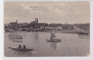 10866 Ak Dirschau Westpreußen Total 1919