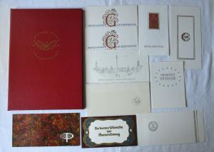DDR alter Vaterländischer Verdienstorden Urkunde Signatur Honecker (101357)