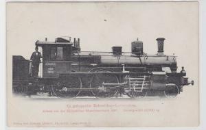 21037 AK Schnellzug-Lokomotive Sächsischen Maschinenfabrik 1897