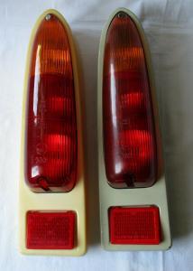 Rückleuchten Rücklicht Trabant Trabi 601 rot orange original DDR (106806)